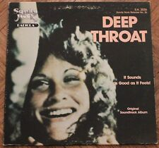 "Deep Throat - Original Soundtrack Album 12"" LP 1980 Sandy Hook Records"