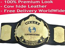 WWE Winged Eagle Championship Replica Title Belt Leather Zinc / Brass 2mm / 4mm
