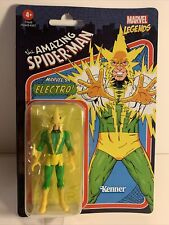 Marvel Legends Electro The Amazing Spiderman Kenner Retro 3.75? Action Figure