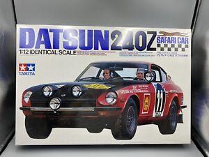 Tamiya Datsun 240Z Safari Car 1/12 Scale Sealed Box!
