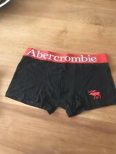 """LOOK"" Mens Abercrombie & Fitch Boxer/trunk Black Size Medium"