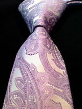 NWT$145 Duchamp London Multi-Color Woven Silk Tie Made In ENGLAND