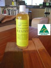 FURNITURE REVIVER  & POLISH   COLOUR FREE BIG  500ml bottle! SUITS ALL WOOD