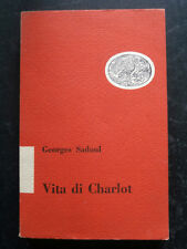 VITA DI CHARLOT- GEORGES SADOUL Chaplin- EINAUDI 1952 cinema muto- B5
