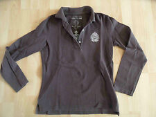 SCAPA SPORTS Polo Team Langarm Poloshirt braun Gr. M TOP (KSA 414)