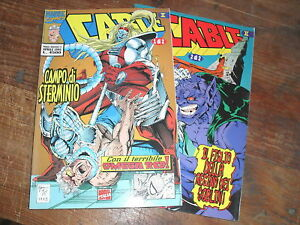 """"""" CABLE II  """" MARVEL MINISERIE  1 + 2"""