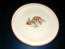 Crooksville Pantry Bak-In PETIT POINT HOUSE Chop Plate