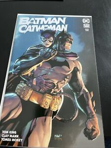 batman catwoman 1 black label
