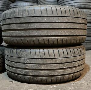 X2 Matching Pair Of 225/40/18 Michelin Pilot Sport 4 92Y Tyres