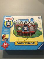 Thomas & Friends Sodor Thomas Shaped Floor Giant Puzzle 24 Pieces Complete