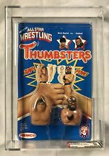 AWA 1985 Thumbsters Remco Rick Martel vs Road Warrior Animal AFA 85 UNPUNCHED!