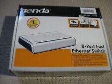 Tenda S108 8 Port 10/100Mbps Fast Ethernet Network Switch LAN Hub