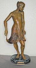 "Original Bronze Sculpture by K. Jurczynski  ""SONYA"" (#4 OF 75) 22 inches tall"
