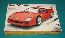 Ferrari F40 Le Mans Italeri Testors 1/24 Complete & Unstarted.