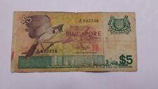 BILLET SINGAPOUR