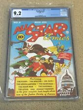 New ListingFlashback 6 Cgc 9.2 White Pages (Reprints All Star Comics #4)