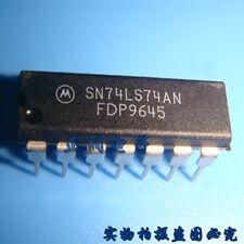 10pcs SN74LS74AN 74LS74N FLIP FLOP D-TYPE PDIP14