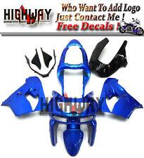 Body For Kawasaki ZX-9R 98 99 ABS Fairings Kit Bodywork Carene Cowling Blue Hot