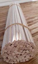 Mini-Kantholz 4x4x400mm Vierkant-Holz Buche Basteln Modellbau Bastelholz Schmuck