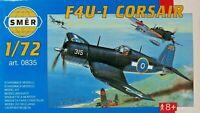 SMER,Vought Corsair F4U-1,US Air Force,WW II, Bausatz, 43 Teile, 1:72,OVP,NEU