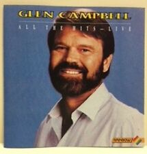 GLEN CAMPBELL: ALL THE HITS: LIVE – 14 TRACK CD
