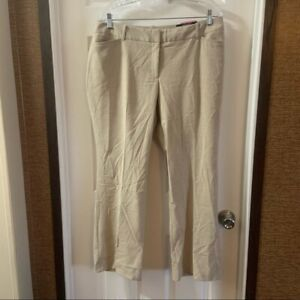 NWT Worthington Women's Tan Curvy Fit Perfect Trousers 14P
