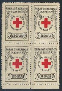 España Guerra Civil. Segovia PARA LOS HERIDOS DE ÁFRICA Sofima 1 en B4