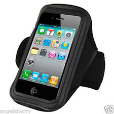 Black Sport Armband Holder Case for Apple iPhone 4S 4G iTouch iPod Touch 4 3GS