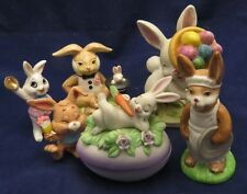Bunny Figurine Collection - George-Good, Dakin, Lefton China and Duncan Royale