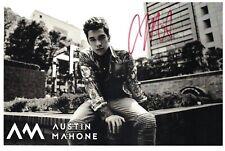 Austin Mahone Signed Autographed Photo Singer