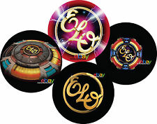 "Jeff Lynne ELO Electric Light Orchestra 7"" 12"" inch TURNTABLE platter MAT seeALL"
