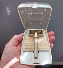 Gillette Adjustable (1 - 9) Slim DE Safety Razor * TTO * 1963 * Original Case