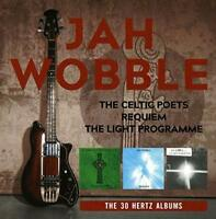 Jah Wobble - The Celtic Poets/Requiem/The Light Programme: The 30 Hert (NEW 3CD)
