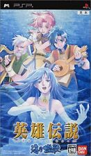 Used PSP The Legend of Heroes V: A Cagesong of the Ocean  Japan Import