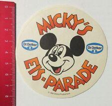 Aufkleber/Sticker:Dr. Oetker Micky's Eis-Parade Walt Disney Production(03051672)