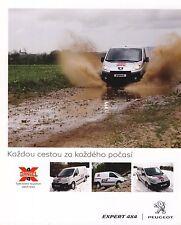 Dangel Peugeot Expert 4x4 12 / 2009 catalogue brochure tcheque Czech rare