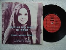 Eurovision / Anne -Marie David  - Wonderful dream - Unseen MALAYSIA only 45 P/S