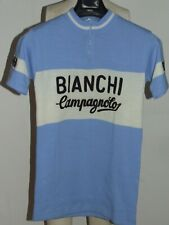 Bike Cycling Jersey Heroic Vintage 70'S Bianchi Campagnolo Acrylic Embroidered