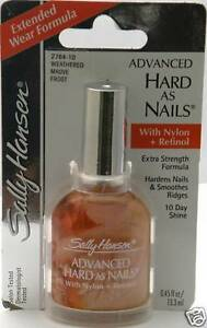 5 Sally Hansen Hard As Nails Weathered Mauve Frost 2764-10