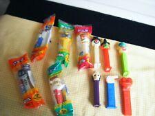 11 Vintage Pez Dispensers Lot Holiday Bee Clown Heart Glow N Dark Santa Whistle