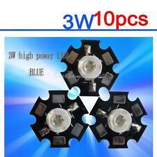 3W 440nm-460nm Royal Blue LED 3-3.7V For Aquarium Light High Power LED Chip 10Pc