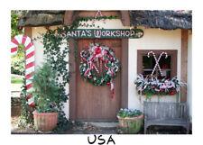 9x6ft Background Santa'S Workshop Christmas Backdrop Photography Props Studio