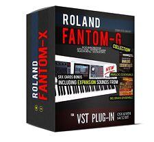 Roland Fantom-G COLLECTION Sample Library for VST AU 32 and 64 bit sounds SRX