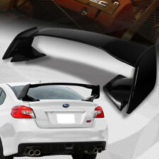 For 2015-2018 Subaru WRX STI OE-Style Painted Black ABS Rear Trunk Spoiler Wing