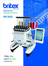 Britex Compact Embroidery Machine 15 Needles