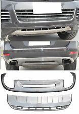 Diffusor Für VW Touareg II 7P Edelstahl 10-15 Grill Blende Stoßstange Grill *51