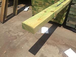 Treated Pine H3 F7 MGP10 90x45 Merbau Decking Joists Rails Fence Deck Blocking