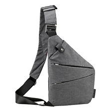 Personal Canvas Anti-Theft Backpack Shoulder Pocket Crossbody Fashion Chest Bag