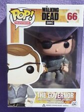 THE GOVERNOR The Walking Dead Pop funko VINYL FIGURINE n° 66 zombie boite NRFB