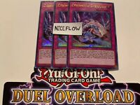 Yugioh Cybernetic Overflow X3 Ultra Rare DUOV 1st Edition NM SHIP NEXT DAY